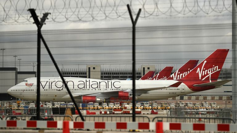 Virgin Atlantic files for US bankruptcy protection in fight for survival