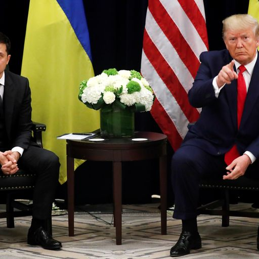 Key parts of whistleblower complaint over Trump phone call to Ukraine president