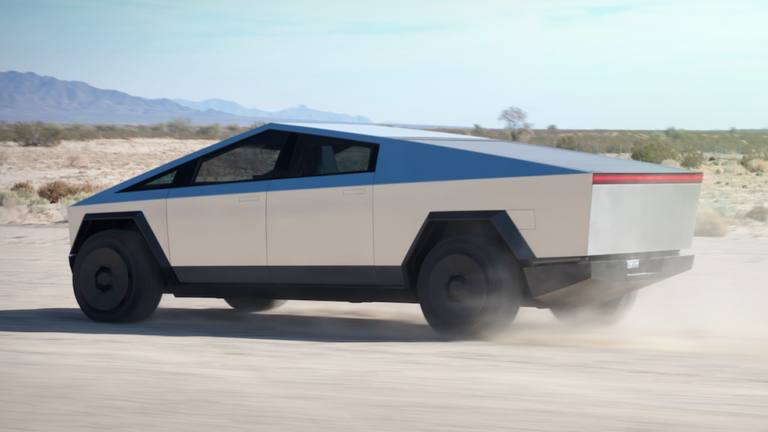 The Cybertruck can go from 0-60mph in under three seconds, Tesla says