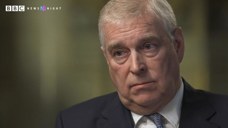 In an interview with BBC Newsnight, Prince Andrew claimed he has 'no recollection' of ever meeting Virginia Roberts.