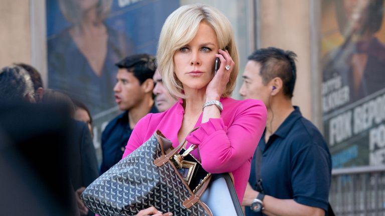 Nicole Kidman stars as ...Gretchen Carlson... in BOMBSHELL. Photo Credit: Hilary Bronwyn Gayle.