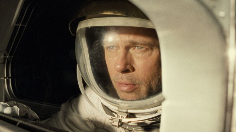 Brad Pitt in Ad Astra. Pic: 20th Century Fox