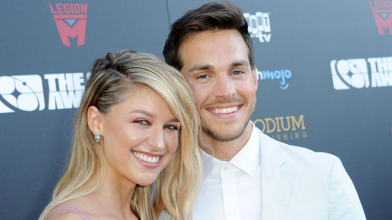 Melissa Benoist is now married to Supergirl co-star Chris Wood