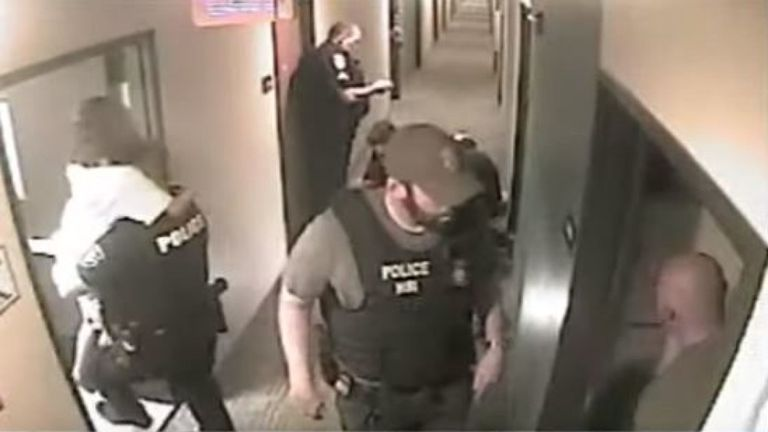 Officers tracked down the girl and her abductor in a Texas hotel