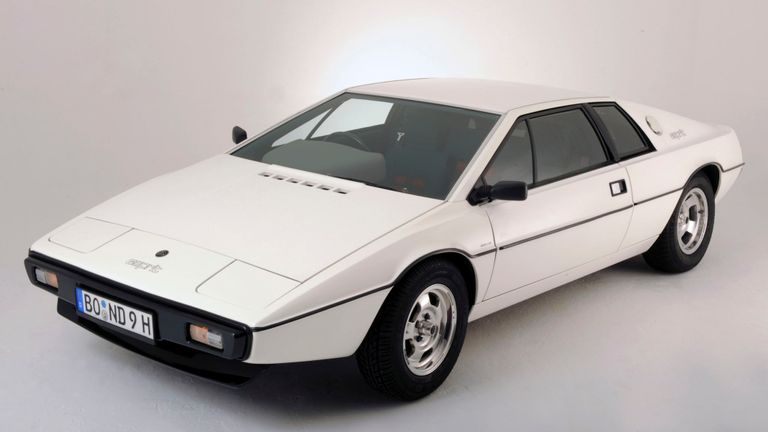 The Lotus Esprit 1977 from the James Bond film The Spy Who Loved Me
