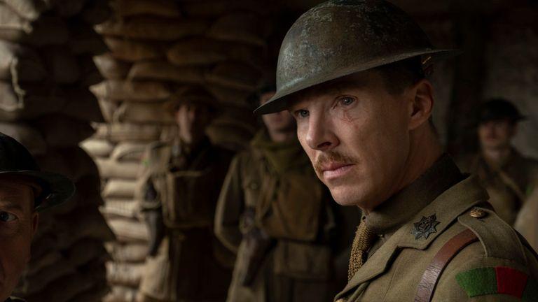 Benedict Cumberbatch in 1917. Pic: E One