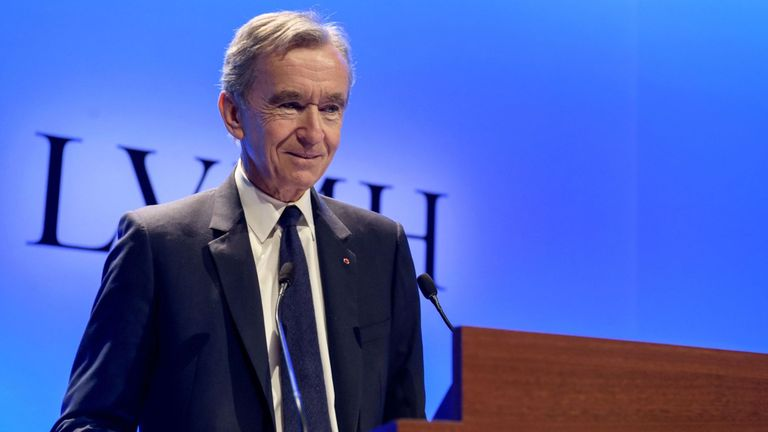 French luxury group LVMH chief executive Bernard Arnault is donating 200m