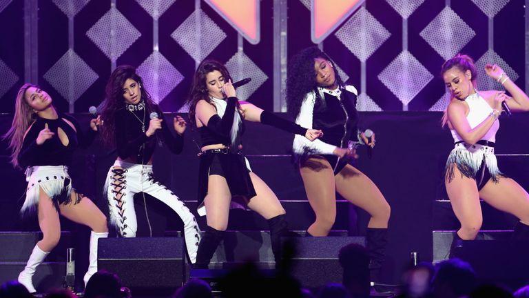 Ally Brooke, Camila Cabello, Lauren Jauregui, Normani Kordei and Dinah Jane Hansen of Fifth Harmony