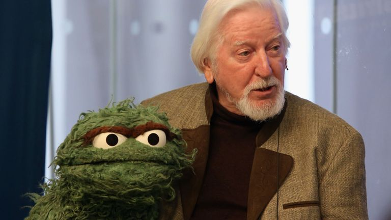Spinney also voiced the part of Oscar the Grouch