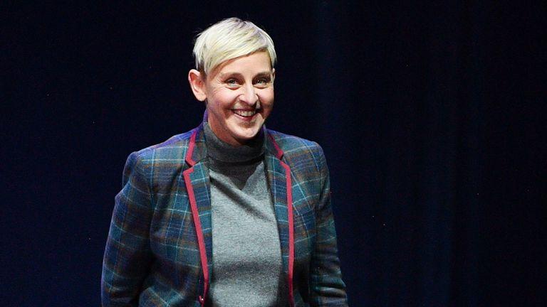 Ellen DeGeneres also defended the royal couple